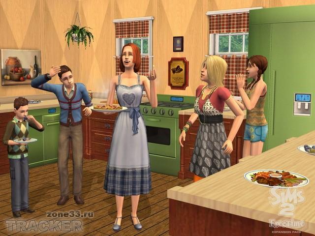 The Sims 2: Увлечения (The Sims 2: FreeTime) - седьмое дополнение к симулят