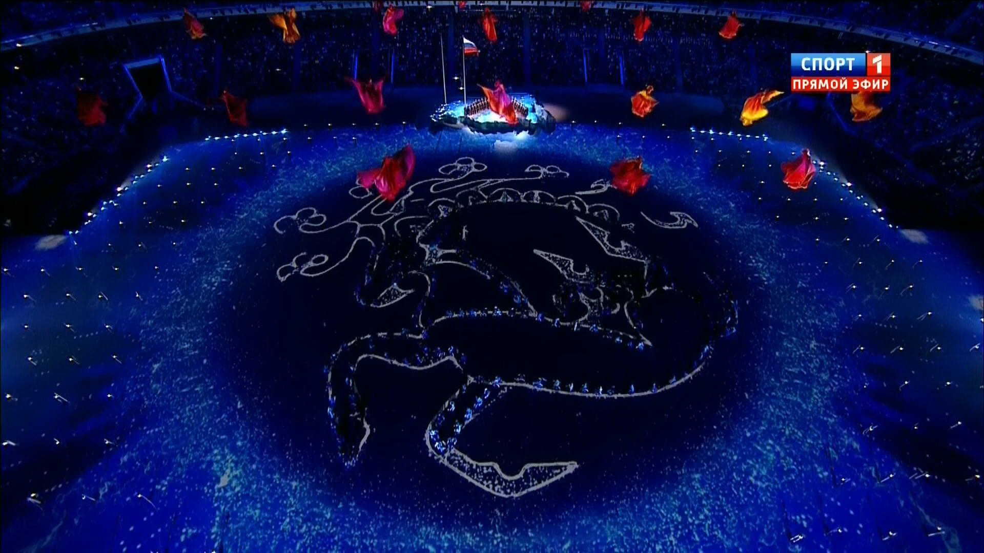 Церемония открытия xi Зимних Паралимпийских игр в Сочи  pic pic