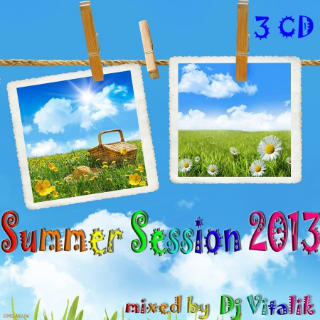 Dj Vitalik - Summer Session 2013 [3CD] (2013) MP3