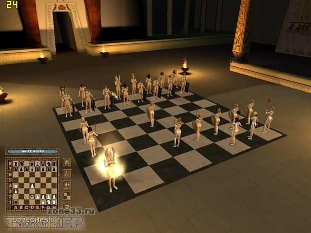 Эротические шахматы/LoveChess2 (2009). Бесплатные игры для девочек и для м