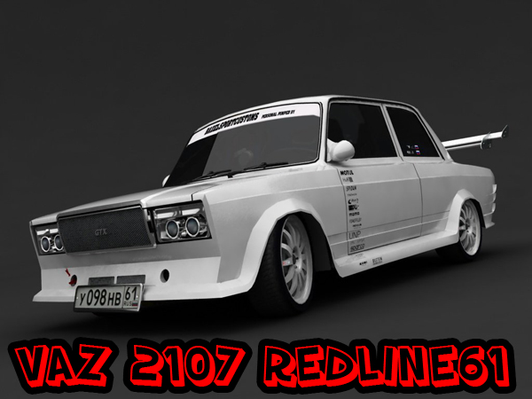 Vaz 2107 tuning for gta sa.  Скриншоты.