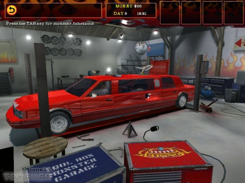 Игры = Monster Garage The Game (RUS) .