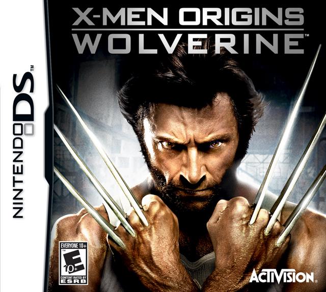 NDS Скачать X-Men Origins - Wolverine (ENG, 2009) для NDS. игры NDS.