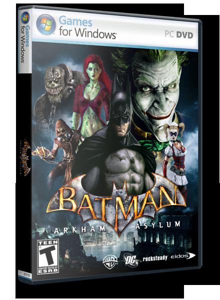 Скачал игру Batman: Arkham Asylum - поиграл,понравилось (прада пришлось еще