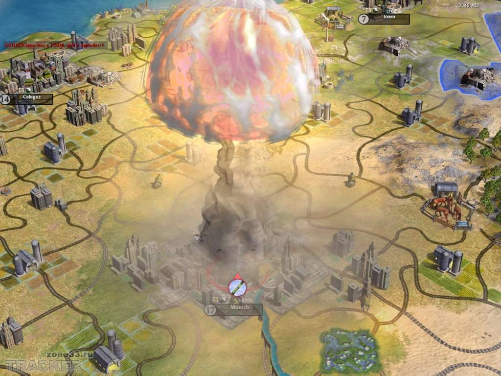 B Игра Sid Meiers Civilization 4 (Цивилизация 4) .