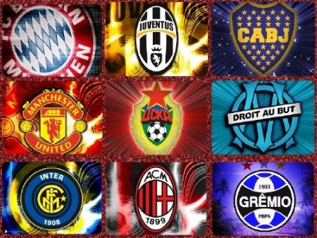 гербы футбольных клубов