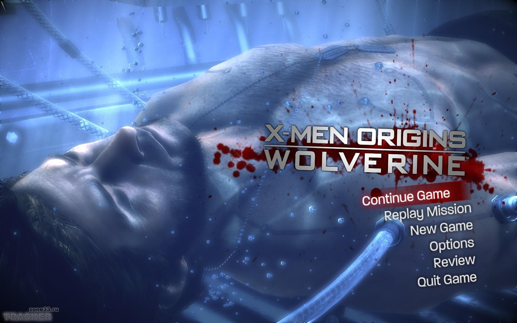 Русификатор для X-Men Origins Wolverine. текст. 2009. Скриншоты