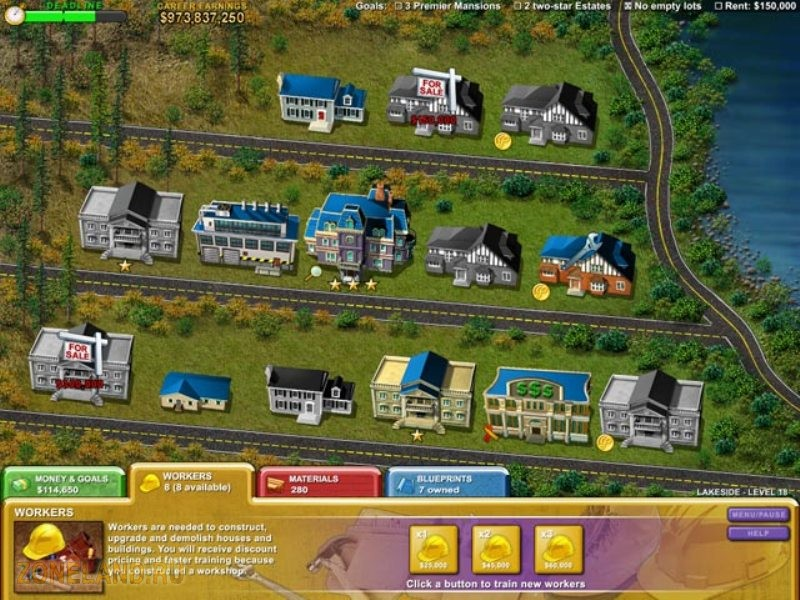 Build-a-lot - новый стратегический симулятор строительной компании.