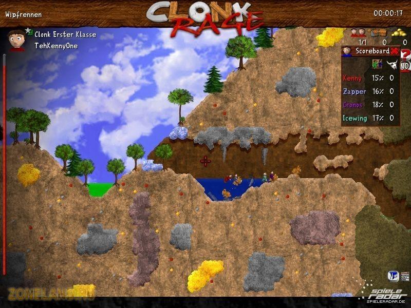Выходит, что для каждого геймера, кто заинтересован в покупке Clonk Rage -