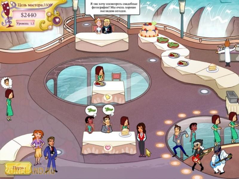 Игра Wedding Dash 2. Rings Around The World Свадебный переполох 2.