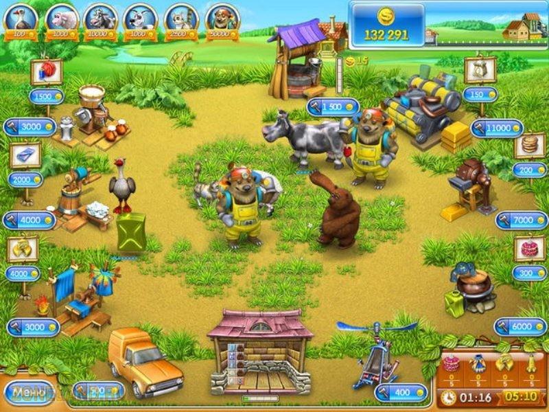 Увлекательная игра в стиле бизнес, новое продолжение Веселой фермы 3