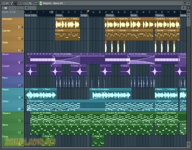 Скачать FL Studio 10 + crack 2011 бесплатно ФЛ Студия. скачать океаны эльзы