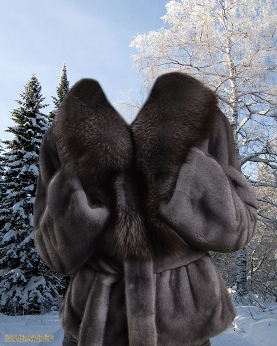 Womens photoshop template - wonderful coat