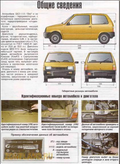 Автозапчасти для автомобиля ока в новосибирске