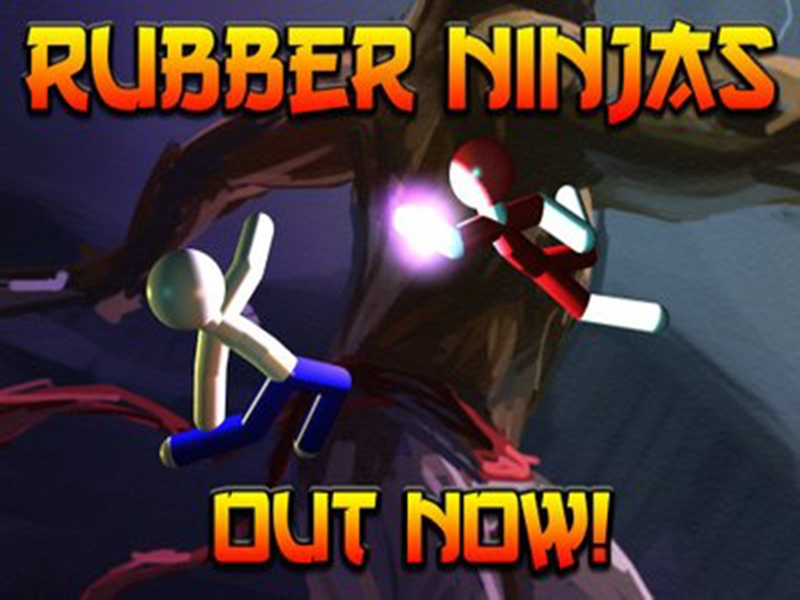 игра rubber ninjas