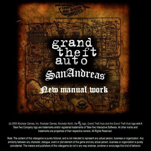 Жанр. 2007. Системные требования. GTASan Andreas New Manual Work