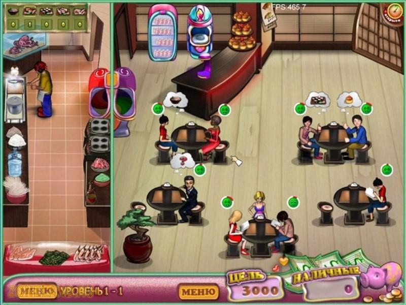 Увлекательный тайм-менеджмент - игра Любимый Ресторанчик.