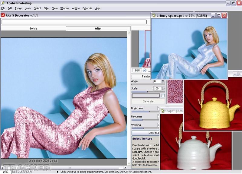 AKVIS Decorator 2.0.416 Rus. Фотошоп на русском языке/Photoshp CS 8.0 rus
