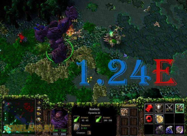 Патч 1.24c для Warcraft 3 - скачать patch Warcraft 3 TFT скачать