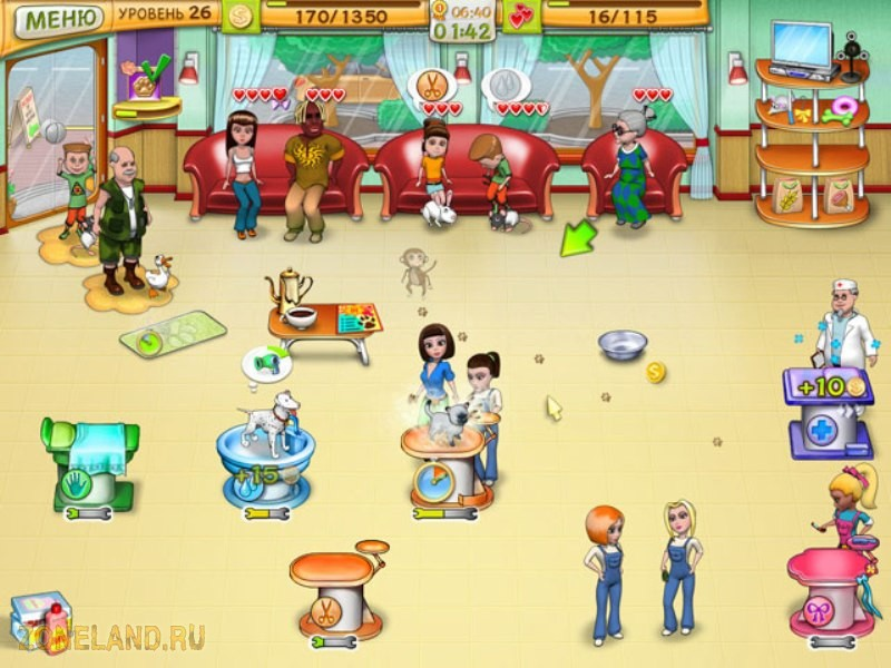 Шоу домашних животных(игра+ключ)( Бегалки, Бизнес, Про животных, Про люде..