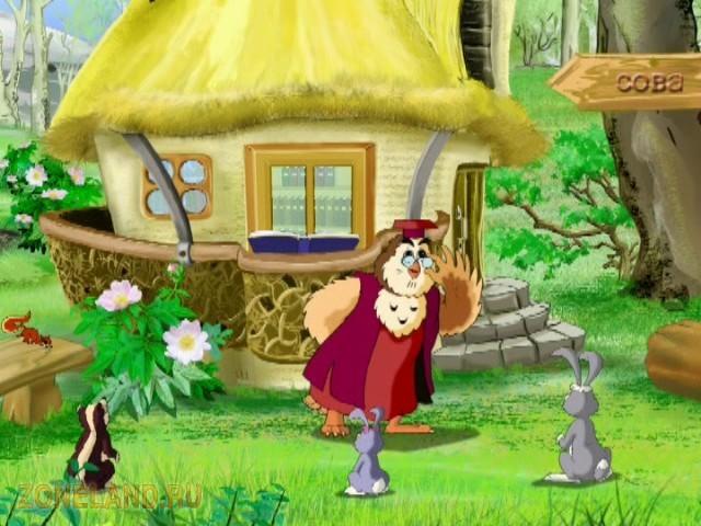 Мультфильм в простой и доступной форме с помощью сказочных персонажей