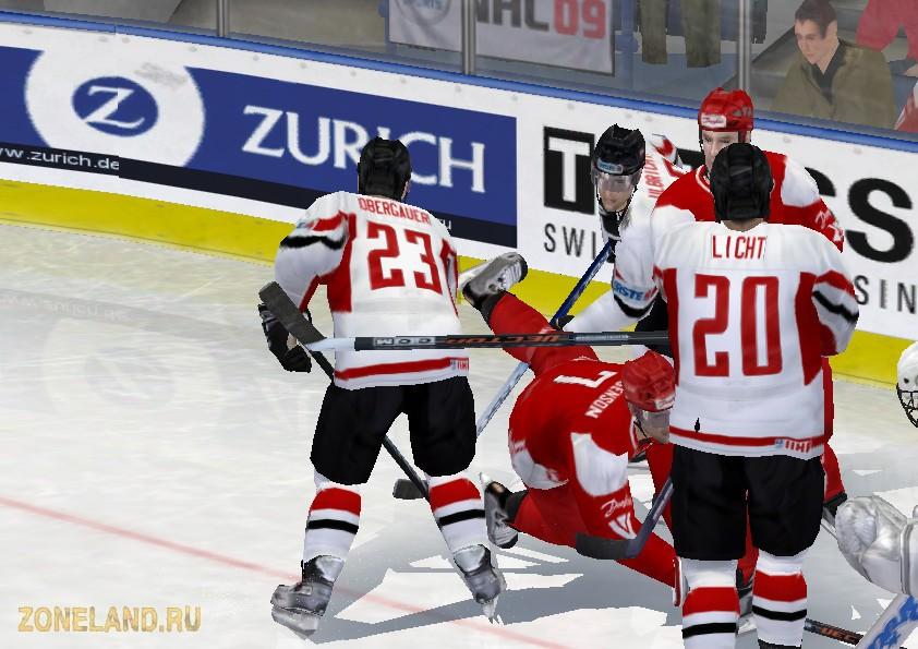 В данный патч вошли 22 сборных IIHF 2009.