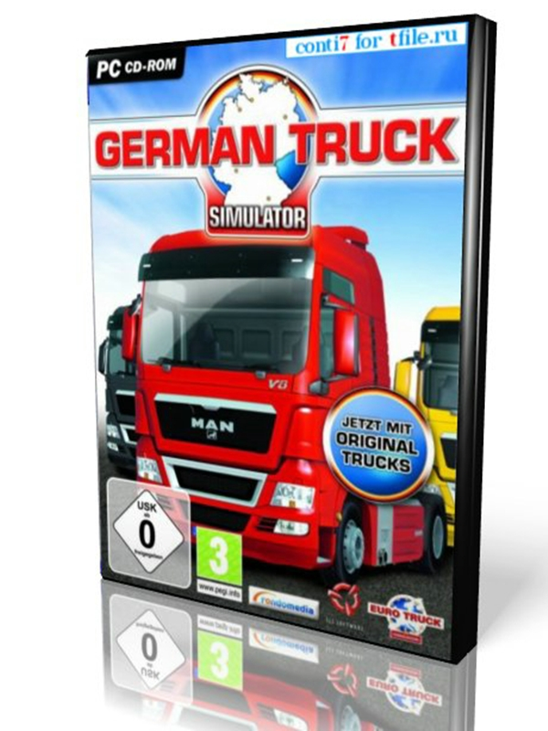 German Truck Simulator - С грузом по Европе 2 Автобаны Германии.