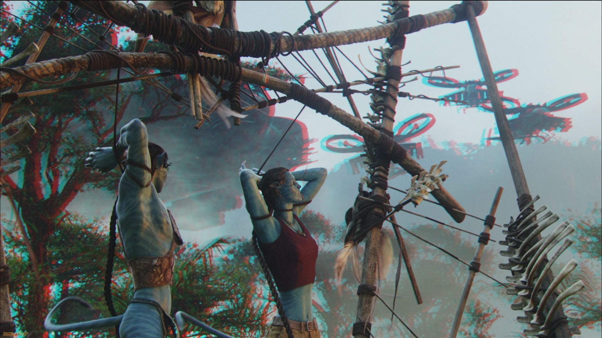 Hub avatar 3d bdrip 1080p anaglyph mkv 16 50 гб