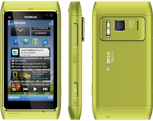 Пионер операционной системы Symbian 3. Первый со времен модели Nokia N95 (н