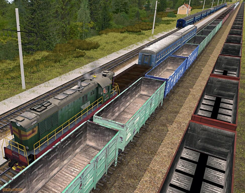 Дополнения К Trainz Simulator 2012