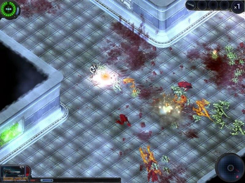 Скачать бесплатно игру Alien Shooter 2.