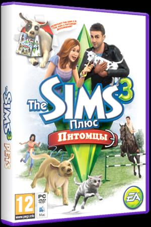 Первая версия NoDVD для The Sims 3 Pets. Для того чтобы скачать кряк