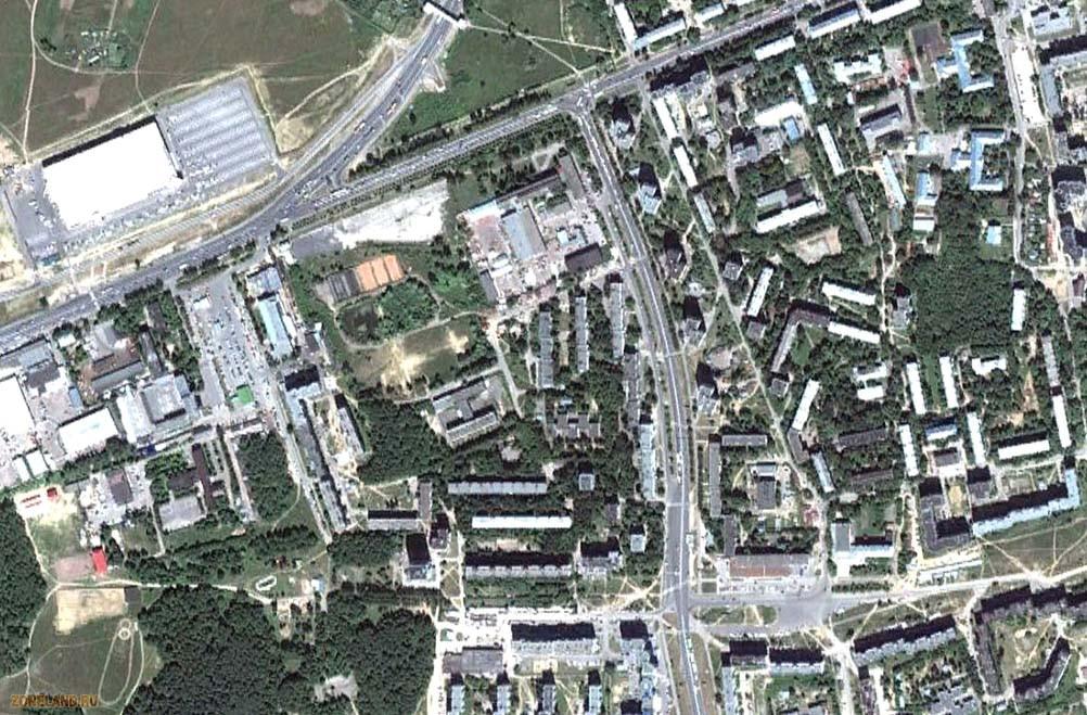 Карта владимира со спутника