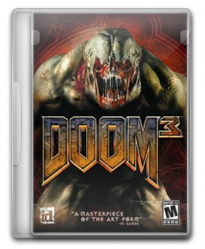 3,84 GB. DOOM 3 + ROE- FULLY CRACKED(VelociREAL Ultimate Mod). action/шуте