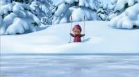 Анимационный мультфильм 3D Маша и Медведь - Праздник на льду...
